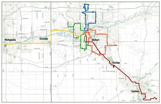 Interurban Trolley Routes Fares